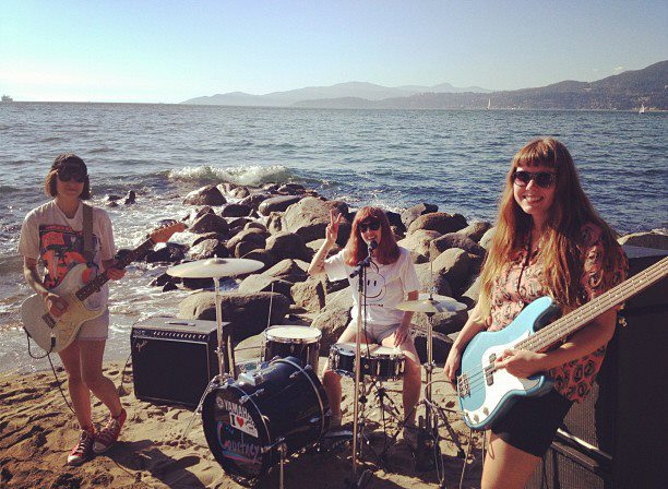 http://thecourtneys.bandcamp.com/ They are playing SF at the end of the  month and I am going to go and dance hard. Goofy, fun, plaintive,  reminiscent of ...